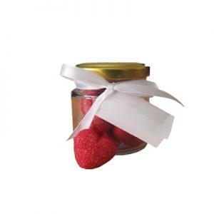 valentin napi ajándék, cukor, szív, szerelem, nádcukor, COVID-19, korona, koronavírus