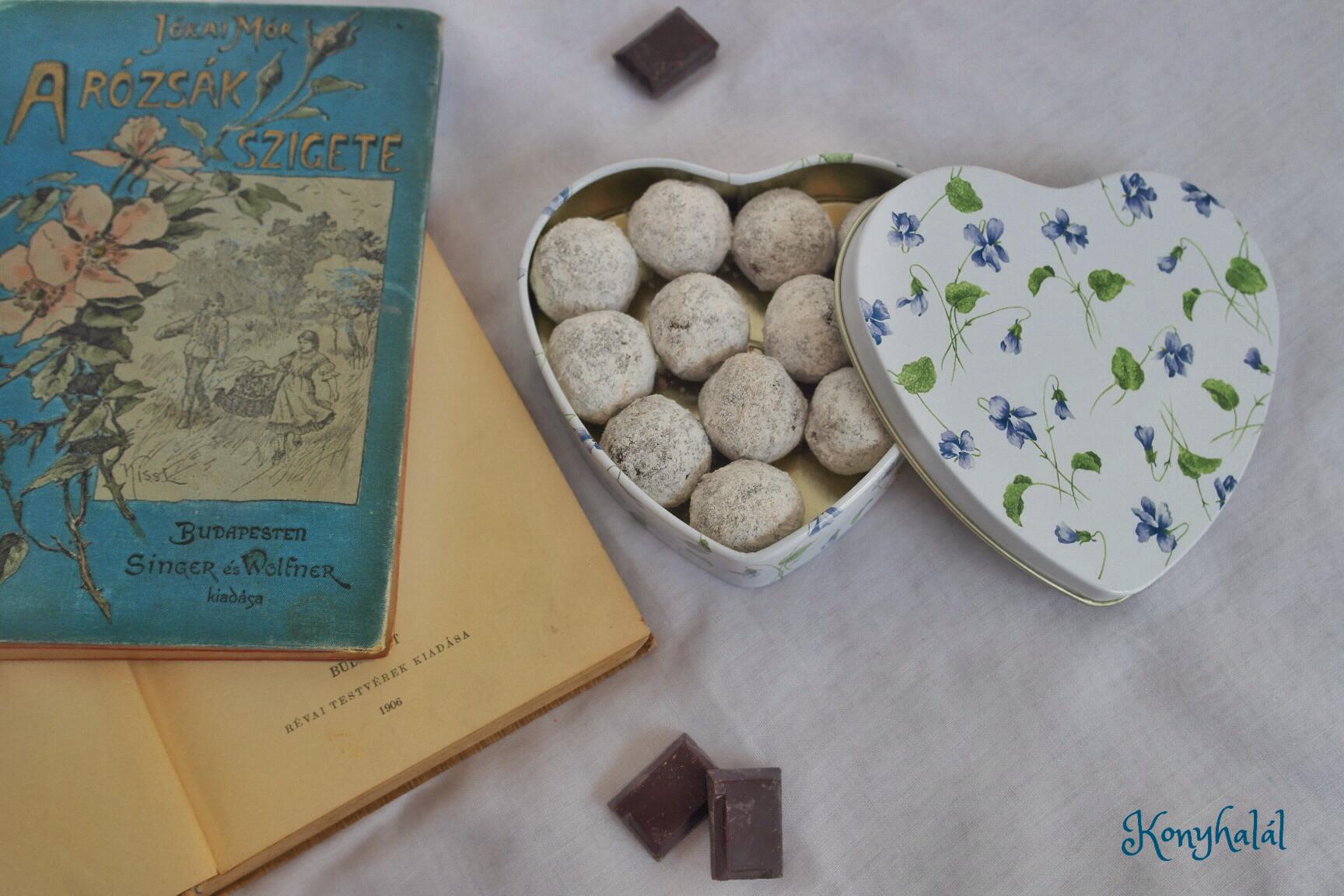 FAHÉJGOLYÓ – Extra gyors édesség!